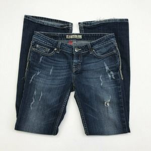 BKE Denim Jeans Stretch Bootcut Size 27